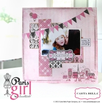 Carta Bella Paris Girl Catalogue (in shops mid July) (3MB)