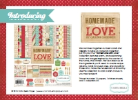 Carta Bella Homemade With Love Catalogue (1MB)