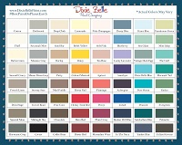 Dixie Belle Paint Colour Chart