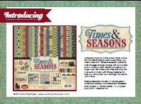Echo Park Times & Seasons Catalogue (2MB) - In the shops now