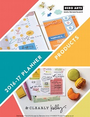 Hero Arts 2016 Planner Products Catalogue