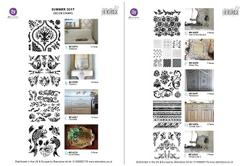 Iron Orchid Designs 12x12 Decor Stamps