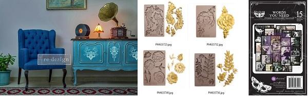 Prima November Re.design release and Finnabair Art Daily Planner