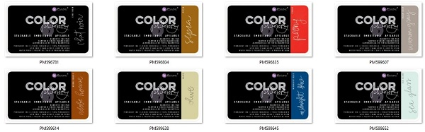 Prima Color Philosophy Permanent Ink in 8 colours